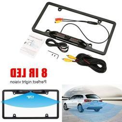 1 x 8 IR HD Night Vision Car Rear View Backup Camera US Lice