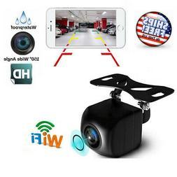 150° Car Backup Reverse Camera WiFi Wireles Rear View Cam F