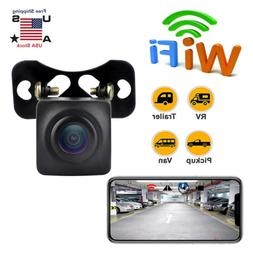150°WiFi Wireless Car Rear View Cam Backup Reverse Camera F