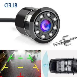 170° CMOS Car Rear View Backup Camera Reverse 8 LED  Night