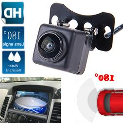 180° Wide Angle Car Rear View Parking Camera CCD Night Reve