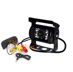 18IR Car Rear View Reversing Backup Camera 12V/24V + 10m Cab