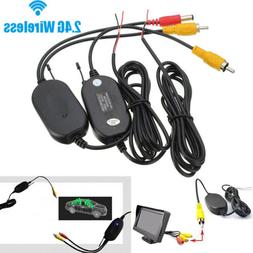 2.4G Wireless Video Transmitter & Receiver for Car Backup Ca