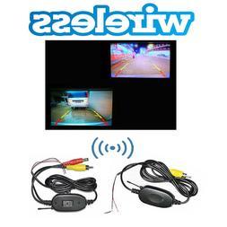 2.4G Wireless Video Transmitter Kit Car Reverse Rear View Ba