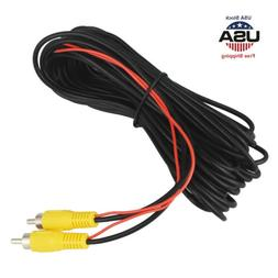 32FT Car Auto RCA Extension Video Cable Rear View Backup Cam