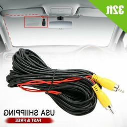 32ft car rca extension video cable
