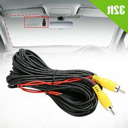 32ft Car Video RCA Extension Cable for Rear View Backup Came