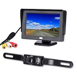Chuanganzhuo 4332965353 Backup Camera and Monitor Kit, Licen