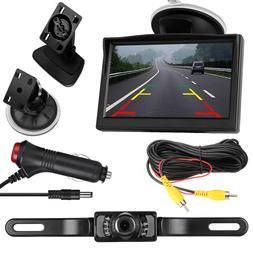 Car Backup Camera Rear View HD Parking System w/ Night Visio