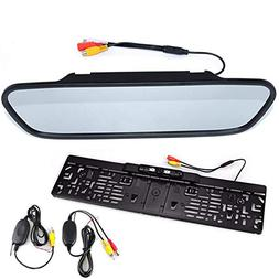BOOMBOOST - 5 inch Rearview Mirror Display European Old Car