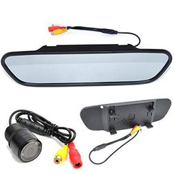 BOOMBOOST - 5 inch Rearview Mirror Monitor 28mm Perforated L
