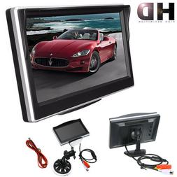 """5"""" TFT LCD Display Screen Monitor Parking For Car Rearview R"""