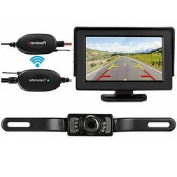 5Wireless Backup Camera and Monitor Kit Rear View System Nig