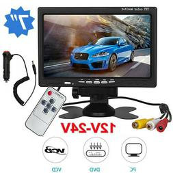 7'' HD TFT LCD Screen Car Rear View Monitor for Vehicle Back