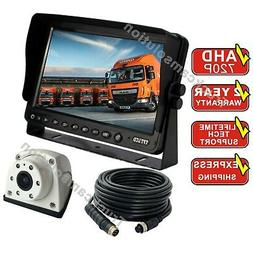 """7""""REVERSING REAR VIEW CAMERA SYSTEM FOR FARM EXCAVATOR TRACT"""
