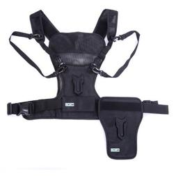 Movo Photo MB1000 Multi Camera Carrier Harness Vest with Mou