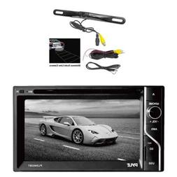 Pyle PLDN63BT In-Dash Touch Screen receiver w/Pyle Rear View