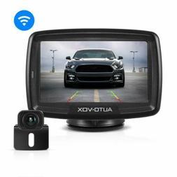 "AUTO-VOX CS2 Wireless Backup Rear View Camera Kit 4.3"" LCD T"