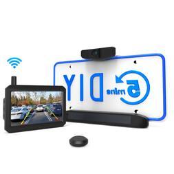 Auto-Vox Solar Wireless Rear View Backup Camera Kit Easy Ins