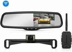 AUTO-VOX T1400 Upgrade Wireless Backup Camera Kit, Easy Inst