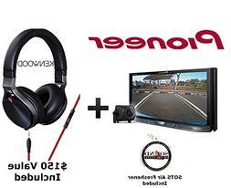 Pioneer AVH-4201NEX DVD Receiver Kenwood KH-KR900 Headphones