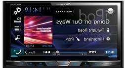 "Pioneer AVH-X490BS 7"" DVD Rcvr & AVIC-U280 Add-On GPS Naviga"