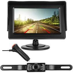 DohonesBest Backup Camera Single Power for Car/RV/Pickup/Tru