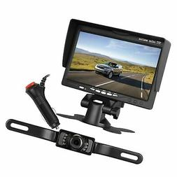 "LeeKooLuu Backup Camera and 7"" Monitor System for Car/SUV/Va"