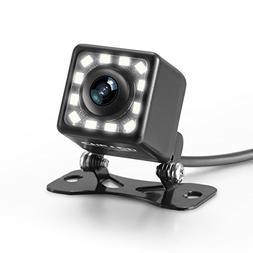 LED Backup Camera, Car Rear View Camera Waterproof High Defi