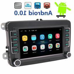 Backup Camera&GPS Double 2Din Car Stereo Radio CD DVD Player