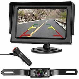 LeeKooLuu Vehicle Backup Cameras Monitor Kit For Car/RV/Truc