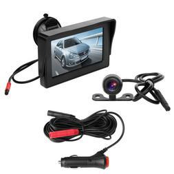 Backup Camera and Monitor Kit For Car/SUV/Vehicle/Pickup Wat