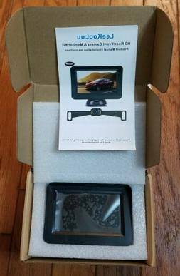 LeeKooLuu Backup Camera and Monitor Kit HD 720P Easy Install