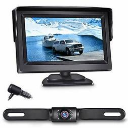 backup camera ert01 with 4 3 inch