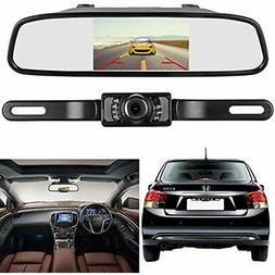 Backup Camera Mirror Monitor Kit For Car/RV/Pickup Truck/Tra