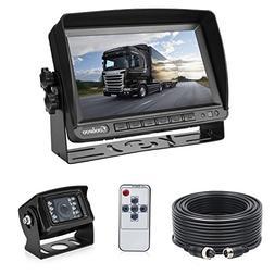 Backup Camera System Kit for RV Van Camper Box Truck, IP69 W