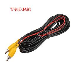 backup camera RCA Video Cable,CAR Reverse Rear View Parking