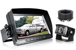 Backup Camera System Kit,Sharp CCD Chip, 100% Not Wash Up,IP