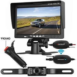 LeeKooLuu Wireless Backup Camera System for Car/SUV/Van/Pick