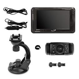 "Yada BT54860-50 Black Back Up Camera with 5"" Dash Monitor"