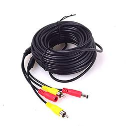 Camera w/ Detection Wire,10M/32FT Car RCA Video Extension Ca