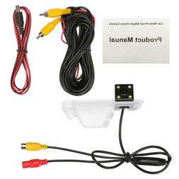 Car Backup CCD Camera Rear View With Guidelines For Hyundai