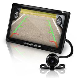 Pyle Car Backup Camera Rearview Mirror Screen | Reverse Park
