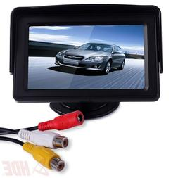 """4.3"""" LCD Car Dashboard Color Monitor for Rearview Vehicle Ba"""