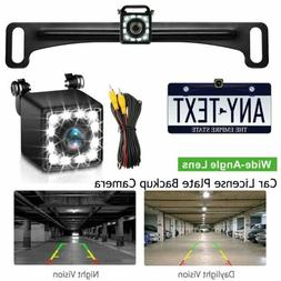 car license plate backup camera rear view