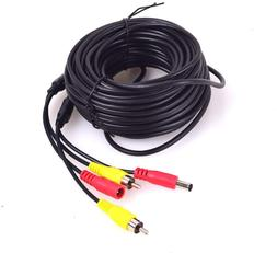 Ekylin Car Rca Dc Video Extension Cable For Backup Camera Cc