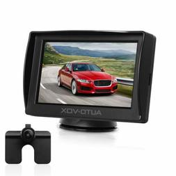 AUTO-VOX M1 Car Backup Camera Kit 4.3'' LCD Monitor + Parkin