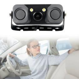 Car Reverse Backup Parking Radar Rear View Camera With Parki