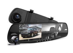"Pyle Dash Cam Rearview Mirror - 4.3"" DVR Monitor Rear View"