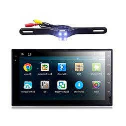EHOTCHPOTCH Android 7.1 Double Din Car Stereo 2 Din Radio Ba